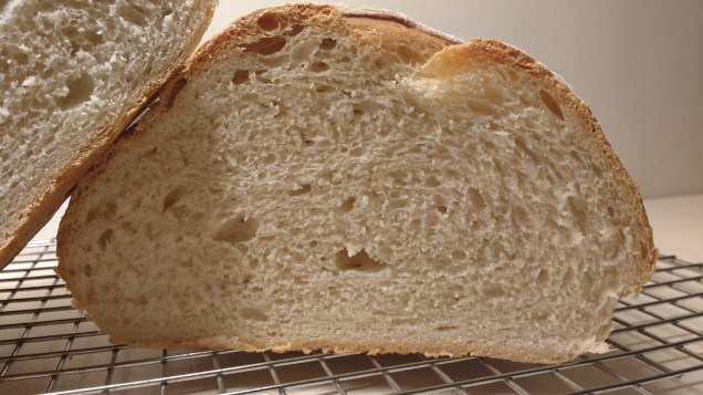 Crumb shot of bloomer